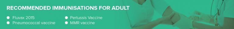adult-immunisations Medical Services